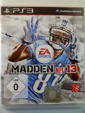 !!! PlayStation ps3 juego Madden NFL 13, usados pero bien!!!