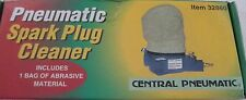 Pneumatic Air Spark Plug Cleaner Sand Blaster Tool Cleaning w/Blasting Abrasive