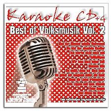 KARAOKE CDG CD + G-il meglio da Deutsche musica popolare vol.2 - Merce Nuova