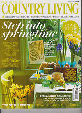 COUNTRY LIVING MAGAZINE BRITISH EDITION MARCH 2014.