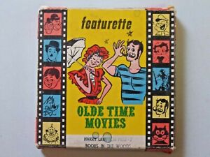 Vtg. Atlas Films Featurette Old Time Movies Boobs in The woods 8mm Harry Langdon