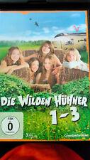 Die wilden Hühner - Teil 1-3  [3 DVDs] (2014),Mädchen,Film,Abenteuer,Kinder