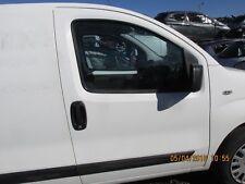 08-14 PEUGEOT BIPPER CITROEN NEMO FIAT FIORINO OS FRONT DRIVERS DOOR WHITE BARE