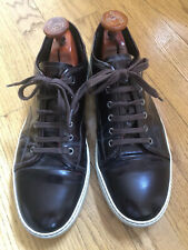 Lanvin Mens Patent Leather SNEAKERS SHOES Trainers Size 10EU/11US Hardly Worn!