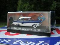 SOLIDO 1/43 METAL FORD TAUNUS Coupé 17M 1957 Bicolore  ref 4582  !