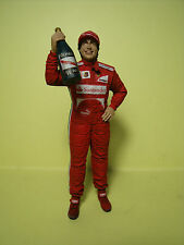 FERNANDO  ALONSO  1/18  UNPAINTED  FIGURE   MADE  BY  VROOM   FOR  MATTEL  SPARK