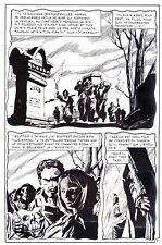 DRACULA LA FEMME DU VAMPIRE   PLANCHE DE MONTAGE ORIGINALE AREDIT PAGE 7