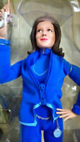 The Avengers Emma peel figure doll product enterprise talking stand Diana Rigg