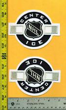"2 NHL Center Ice Logo crest patch Nice!!!!( @ 5"" X 3 3/4"" @)"