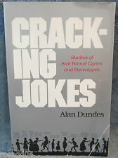Cracking Jokes Studies Of Sick Humor Cycles & Stereotypes Alan Dundes-Paperback