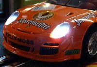 Slotcar LED Beleuchtung XENON-WEISS Front & Heck mit Standlicht für NSR    99999