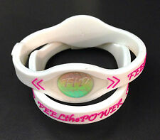 Power Energy Band Bracelet Wristband (SMALL WHITE) FAST USA SHIPPER (1pc)