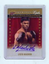 2009 PROMINENT CUTS LYOTO MACHIDA AUTOGRAPH AUTO - UFC
