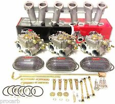 HOLDEN 6CYL 149-202 RED 45 DCOE PACKAGE SUITS WEBER  DELLORTO PERFORMANCE CARBY