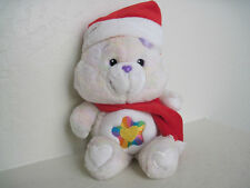 "13"" Care Bears ~TRUE HEART BEAR CHRISTMAS RARE Plush Stuffed Animal"