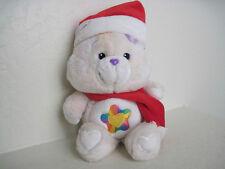 "13"" Care Bears ~TRUE HEART BEAR CHRISTMAS RARE Plush Stuffed Animal"