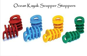 Ocean Kayak Scupper Stoppers Plugs (Set of 2) Choose Size