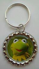 "MUPPETS MOST WANTED "" Kermit"" Bottle Cap Keyring"