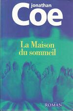 Livre la maison du sommeil Jonathan Coé book
