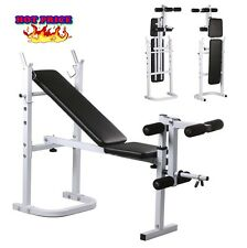 Exercise Equipment Home Gym Heavy Duty Foldable Upper Lower Body Workout Bench
