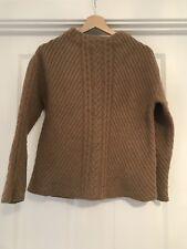 Massimo Dutti Beige Wool Knit Jumper Medium