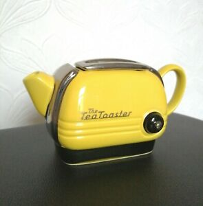 Swineside Teapottery Novelty Yellow Toaster Teapot Made In England /Collectables