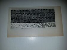 Colorado State College Fort Collins University 1939 Football Team Picture