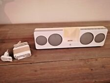Logitech Pure-Fi Anywhere 2 iPod Player/Speakers White Excellent