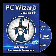 Windows Password Recovery, Finder, Reset for Window XP, Vista and 7 - Boot Disc
