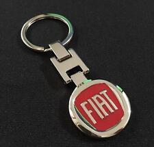 Fiat Llavero Metal Cromo/rojo para Fiat 500 serie de cartera Pintura Acrílica Burnt Sienna 470ml. Envio Incluido