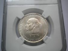 2050. WEIMARER REPUBLIK 3 Reichsmark Mark 1931 A Stein NGC MS 63 +100