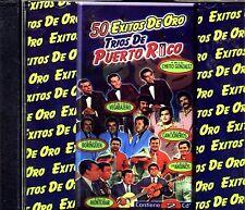 50 EXITOS DE ORO - TRIO DE PUERTO RICO / TRIO VAGABAJEÑO,TRIO LOS ANDINOS Y MAS