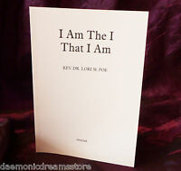 I AM THE I THAT I AM - Finbarr Occult Grimoire White Magic Magick Witchcraft
