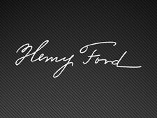 Henry Ford Signature focus, rs, xr Sticker Vinyl Decal Cosworth