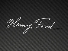 Henry Ford firma Focus Rs, Xr Pegatina Vinilo calcomanía Cosworth
