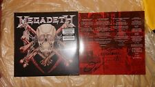 New Signed LP Megadeth Killing Is My Business And Business Is Good Silver Vinyl