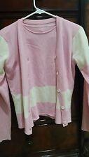 Beautiful 100% Cashmere Lucien pellat-finet Sweater Set Sz M