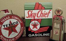 Texaco Lovers Gasoline Lot Sign 16x12 11x11 Gas Pump Mechanic Garage Metal Sign