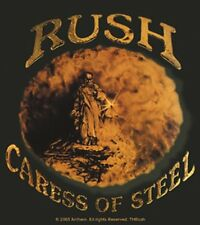 Rush Rock Music Band Sticker Caress of Steel Decal Bumper Self Adhesive Window