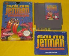 SOLAR JETMAN Nintendo Nes Versione Italiana PAL A »»»»» COMPLETO