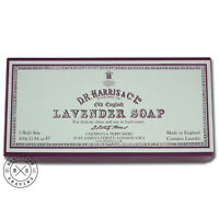 D R Harris Old English Lavender Bath Soap Box of 3 x 150g (20032)
