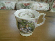 "Royal Doulton Brambly Hedge ""Poppy's Babies"" Beaker/Mug - 1st Quality"