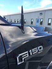Black Short 50 Caliber Antenna Ford F150 Raptor King Ranch Lariat Platinum 97-18