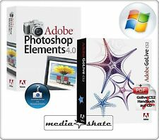 Adobe Golive CS2 + Photoshop Elements 4.0, Go Live CS 2, Win
