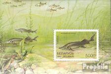 Belarus block15 unmounted mint / never hinged 1997 Fish