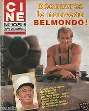 Couverture magazine,Coverage Ciné revue 08/12/83 Jean Paul Belmondo