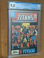 Tales of the Teen Titans #44 1st Print 1st Nightwing & Jericho CGC 9.8 NM+/M