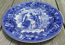 Antique Wedgwood Priscilla and John Alden Plate 1901 Collector Plate