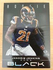 JANORIS JENKINS RC🏈 2012 Panini Black /349 ROOKIE CARD #145 Rams