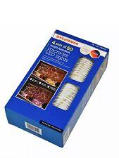 Sylvania Dual Color Microdot LED Lights 4 Sets of 50 Christmas Multipurpose Use